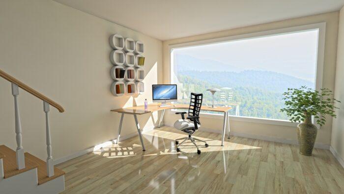 自宅オフィスのイメージ写真